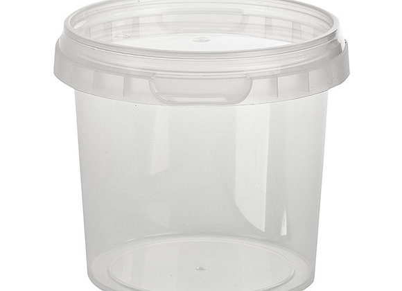 365ml Round Container and Lid Case of 415