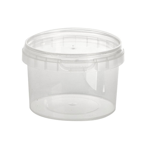 Round 280ml Plastic Tamper Evident Deli Food Container and Lid