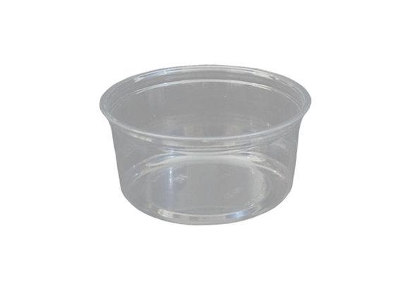 12oz Clear PET Deli Alur Container Case of 500