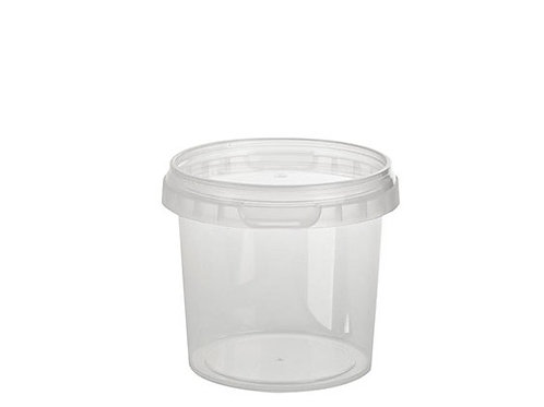 155ml Round Container and Lid Case of 1110