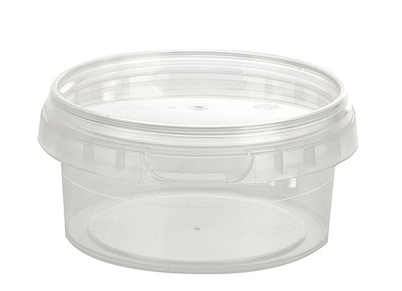 210ml Round Container and Lid Case of 448