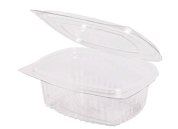 RPET Hinged Salad Container 500ml Case of 450
