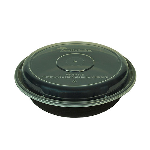 23oz Round Container & Lid Case of 150