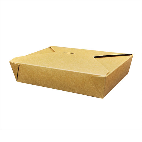 51oz Kraft Food Container  Case of 200