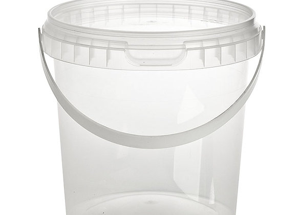 770ml Round Container and Lid and Handle Case of 240