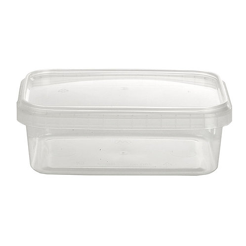280ml Rectangular Container and Lid Case of 517