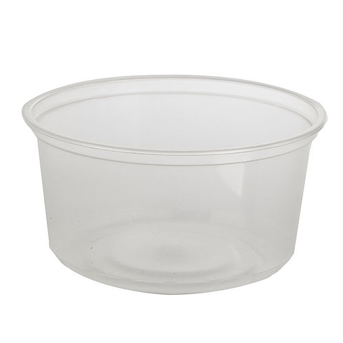 12 floz Clear PP Deli Container Case of 500