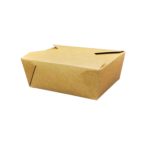 46oz Kraft Food Container Case of 200