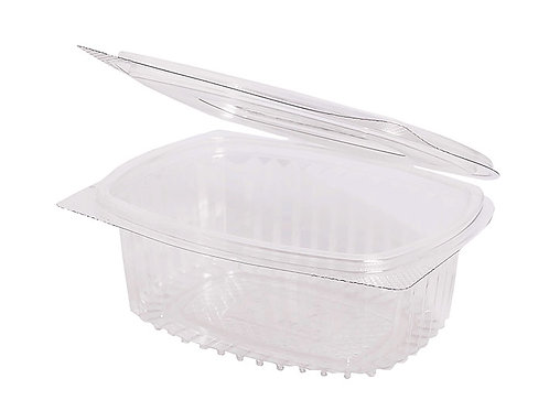 RPET Hinged Salad Container 375ml Case of 750