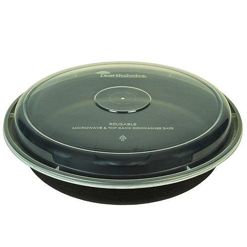 46oz Round Container & Lid Case of 150