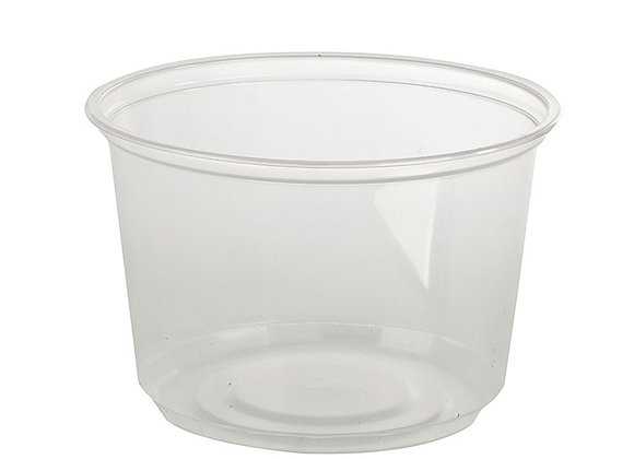 16 floz Clear PP Deli Container Case of 500