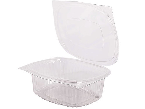 RPET Hinged Salad Container 750ml Case of 500