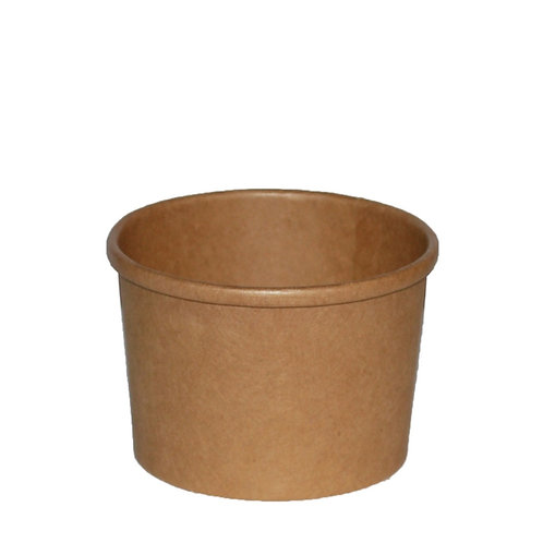8oz PE Lined Soup Container Case of 500