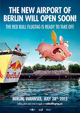 Red Bull Flugtag artwork