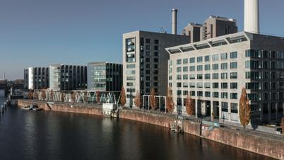 Panoramaaufnahme Torhaus West Frankfurt