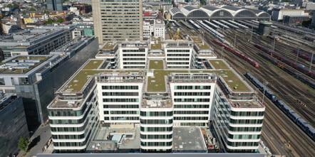 Panoramaaufnahme Grand Central Frankfurt