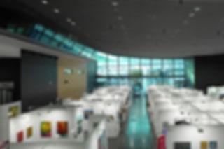 Innenraumaufnahme-Messehalle-Frankfurt