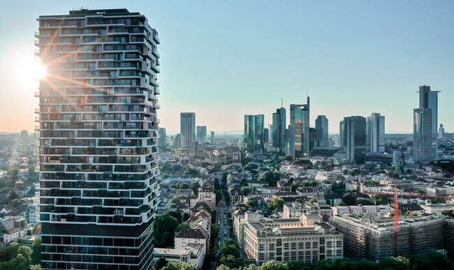 Drohnenaufnahmen Frankfurt