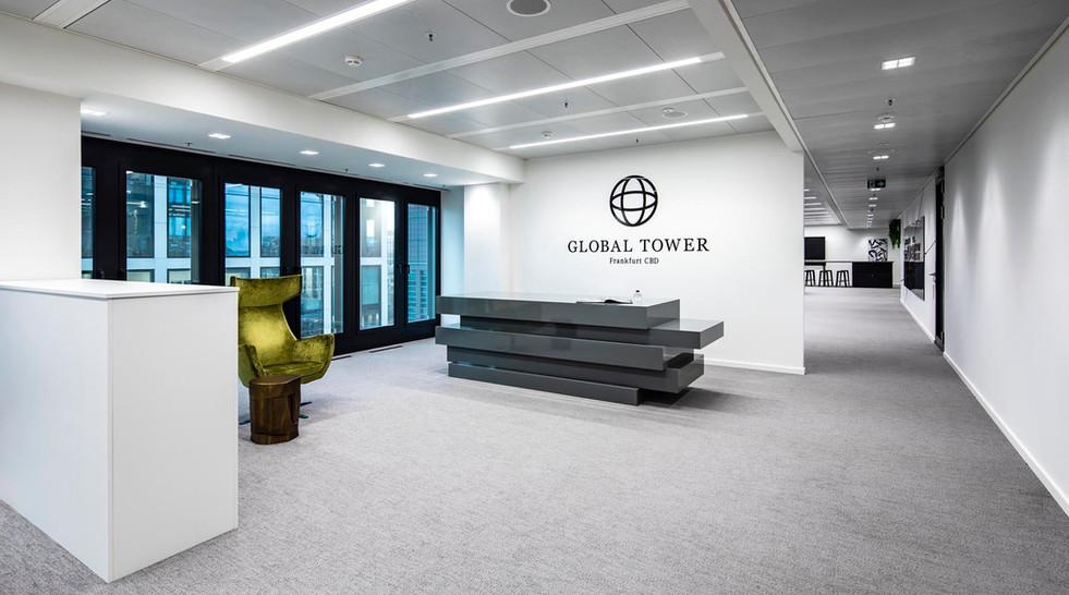 Interior Fotografie Global Tower