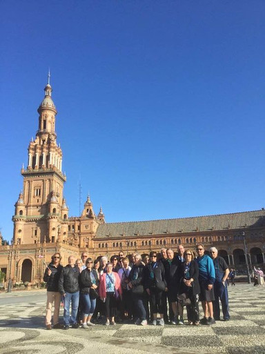 Siviglia with a great group from Canada
