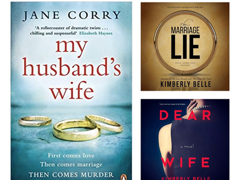 Book List  3 Scandalous Books about love and Marriage