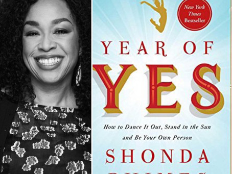Book Review| Year of Yes by Shonda Rhimes