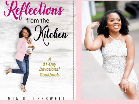 Author Exclusive: Interview w/Mia Creswell, author of Reflections from the Kitchen