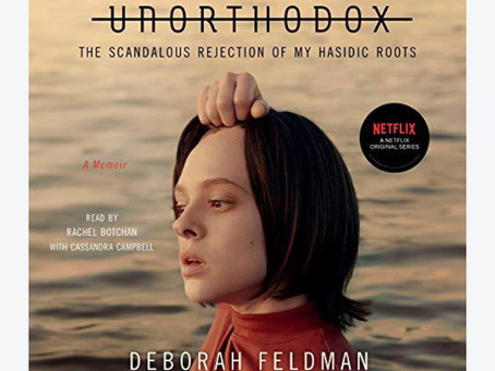 Book Review| Unorthodox by Deborah Feldman