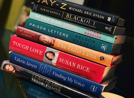Book List| 8 Non-Fiction Books Currently on My NightStand