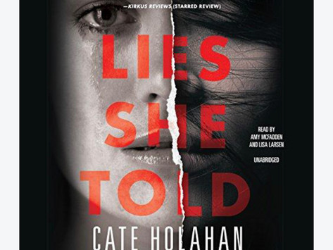 Book Review  Lies She Told by Cate Holahan