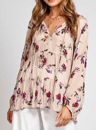 Rose Garden Silk Top