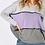 Thumbnail: Lavender Tri-Colour Knit