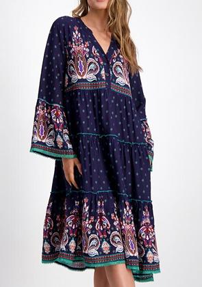 Sorrento Print Dress