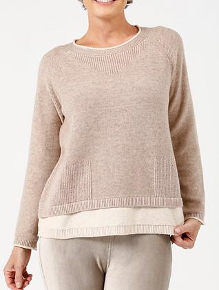 Stone & Oatmeal Knit