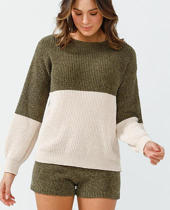 Sage Chenille Knit