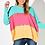 Thumbnail: Rainbow Tri-Colour Knit