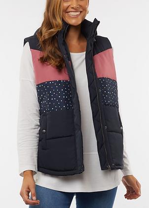 Elm Navy/Rose Vest