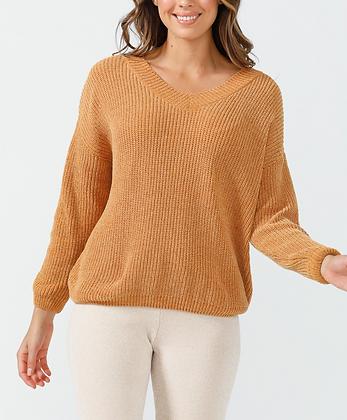 Turmeric Chenille Knit