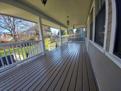 Exterior Deck: After