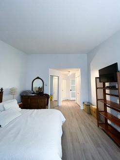 Bedroom walls & trim: After