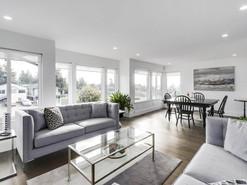 Living Room Walls: After