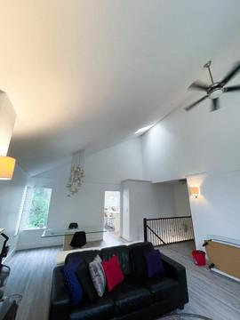 Living room walls, doors & trim: After