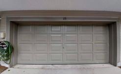 Garage Door: After