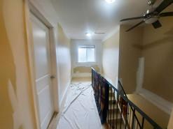 Walls, trim: Before