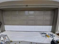 Garage Door: Before