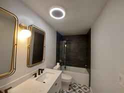 Bathroom Ceiling & Walls: After