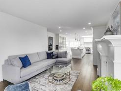 Kitchen & Living Room Walls: After