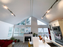 Kitchen ceilings, walls & trim: After