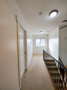 Walls, trim: After