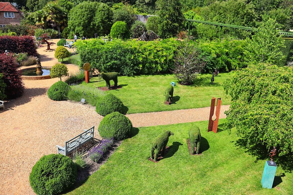topiary garden landscape design